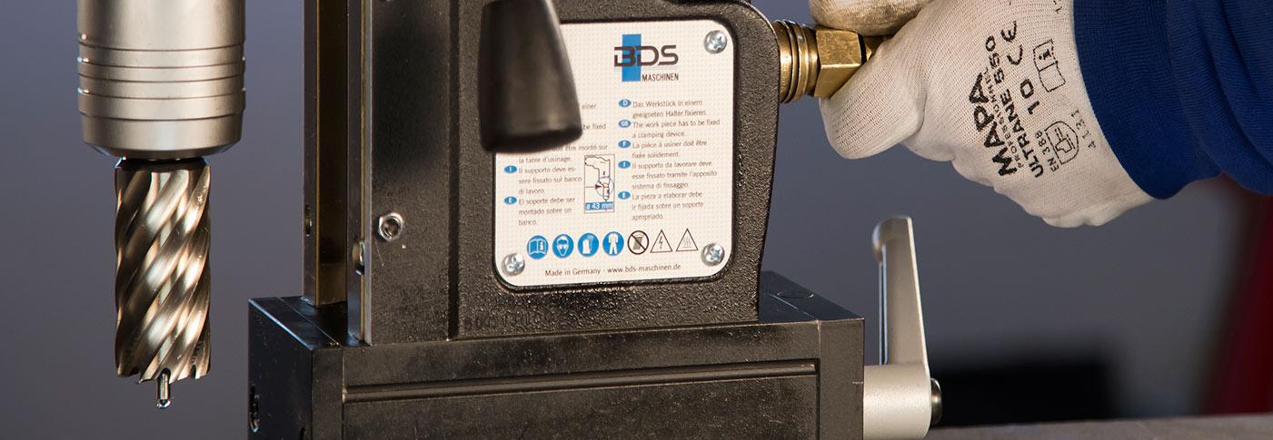 Masina de gaurit pneumatica cu talpa electromagnetica BDS AirMAB 5000