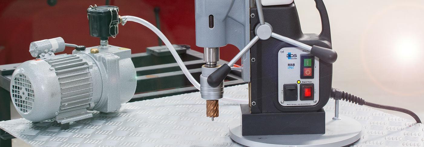 Masina de gaurit cu talpa electromagnetica BDS MAB 525