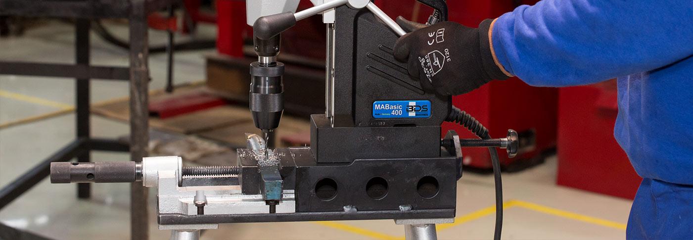 Masina de gaurit cu talpa electromagnetica BDS MABasic 400